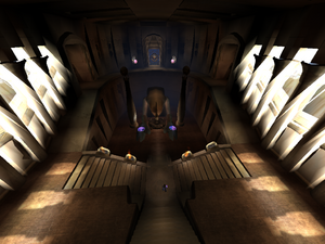 The Main Light Forge chamber as it appears in the Pre-Blood Omen era of Soul Reaver 2