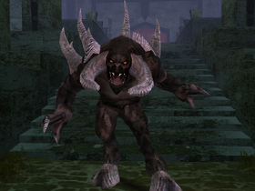 A Black Demon in Soul Reaver 2.