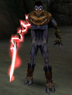 The Amplified Reaver in the PC version of Legacy of Kain: Soul Reaver (enabled with cheat codes)