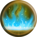 The Healing Mist icon as it appears in Nosgoth.