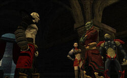 Kain meets Vorador and members of the Cabal at Sanctuary