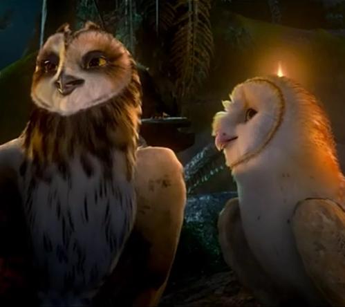 Soren and Otulissa | Legend of the Guardians owls of Gahoole Wiki | Fandom