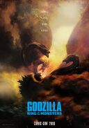 Godzilla King of the Monsters poster 3