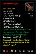 Spire Destroyer S
