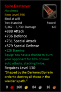 Spire Destroyer H