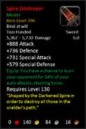 Spire Destroyer M