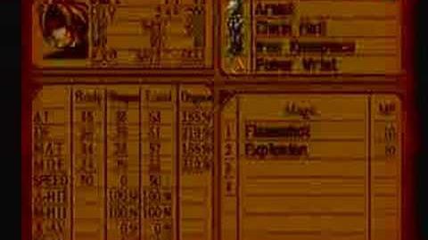 Legend of Dragoon HP glitch