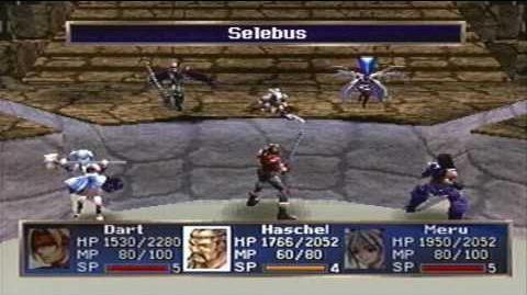 Legend of Dragoon Walkthrough Part 133 - Vector, Selebus, Kubila