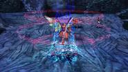 Zieg uses dragoon magic