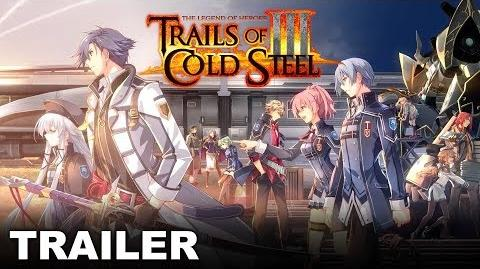 The Legend of Heroes Trails of Cold Steel III - Announcement Trailer (PS4)