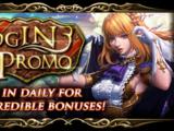 Monthly Login Promo