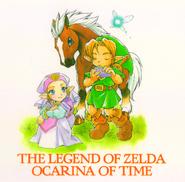 OoT comic Link and Zelda
