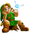 OoT Young Link and Navi.png