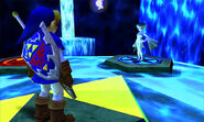 OoT3D Ruto and Link(adult)