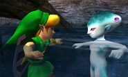 OoT3D Ruto and Link