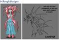 Botw Mipha Rough Designs.jpg