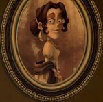 Señora San Juan pintura