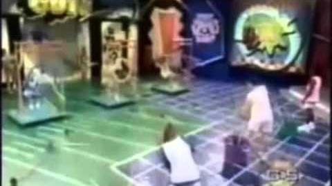 Nickelodeon All-Star Challenge Game 1 (Blue vs. Yellow vs. Pink)