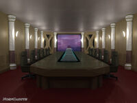Shinra conference room by noengaruth