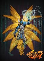 Seraphimon ready hallowed ascension