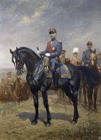 Georges Scott - Portrait officiel du Maréchal Foch