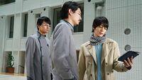 Sento Kiryu Gentoku Himuro Nariaki Utsumi working together
