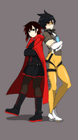Ruby Rose and Tracer