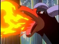 Houndoom flamethrower
