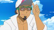 Professor Kukui Pokemon anime