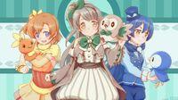 Love Live X Pokémon Rowlet Torchic Piplup Kotori Minami Honoka Kousaka Umi Sonoda