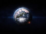 3D-graphics Nuclear explosion 014398