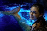 Cleo Relaxing In Moon Pool
