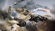 Imperial domination avenger strike fighter by arkurion-d5kvodi