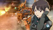 Aldnoah Zero Inaho Kaizuka in Super Robot Wars DD