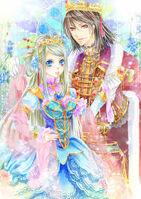 King magnus and queen celestia