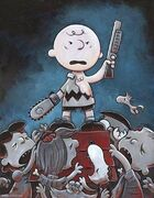 Peanut Gang as Evil Dead Characters