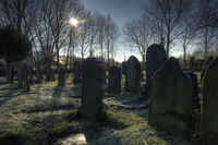 St georges church graveyard Carrington Greater Manchester