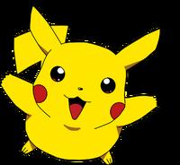 Pikachu cute happy jump