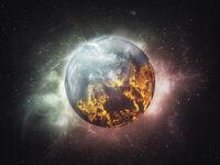 Burning earth by kexitt-dbyjt9l