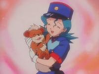 Officer Jenny Growlithe puppy