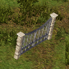 Small stone and metal gate.png