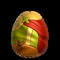 Шарф яйцо