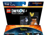 Donkey and Puss In Boots Team Pack (D1285Vr)