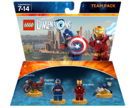 Iron Man and Captain America Team Pack