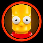 Bart Simpson Character Icon
