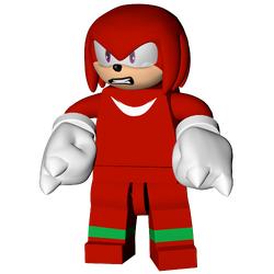 Knuckles The Echidna (DarthBethan)