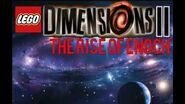 Lego Dimensions 2- The Rise of Enoch - Inside Enoch's Castle (Custom)