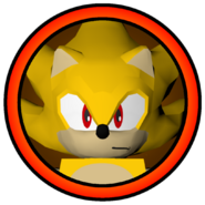 Super Sonic Character Icon