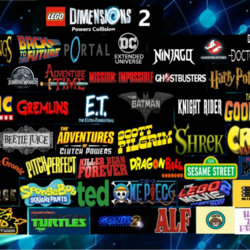 LEGO Dimensions 2 Powers Collision (D1285VR)