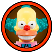 Krusty the Clown Character Icon